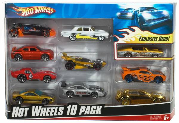 Hot Wheels 10-pack giftset