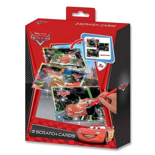 Disney Cars, kraskunst kleur, 3 delig