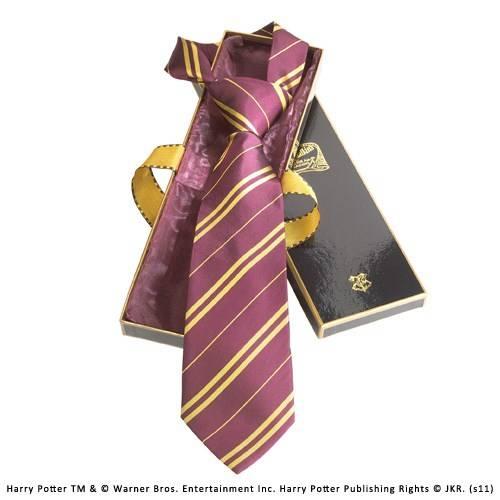 Gryffindor 100% zijden stropdas in Madam Malkins Box