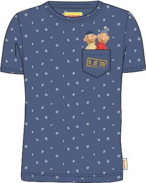 T-shirt Buurman en Buurman: blauw maat 98/104