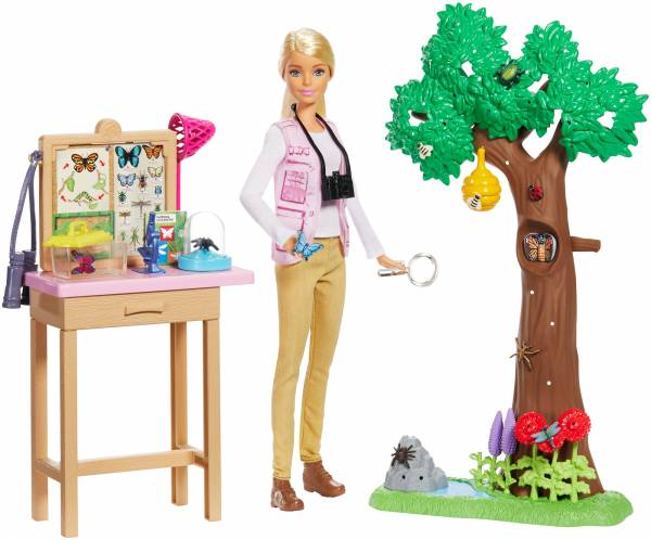 Vlinderwetenschapper speelset Barbie (GDM49)