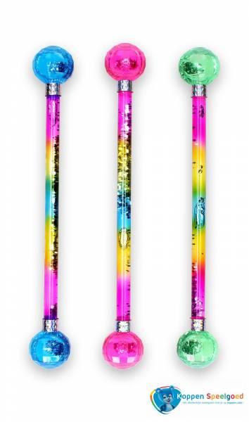 Glitter majorette baton