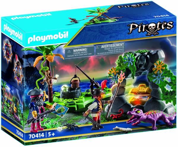 Piraten op schattenjacht Playmobil (70414)