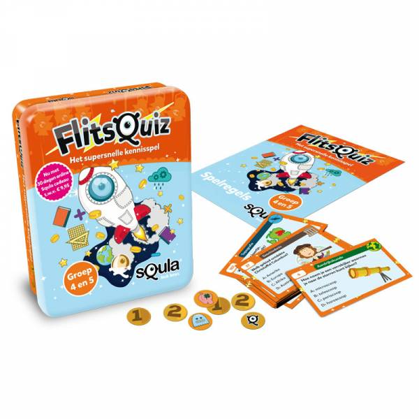 Identity Games, Squla Flitsquiz groep 4/5