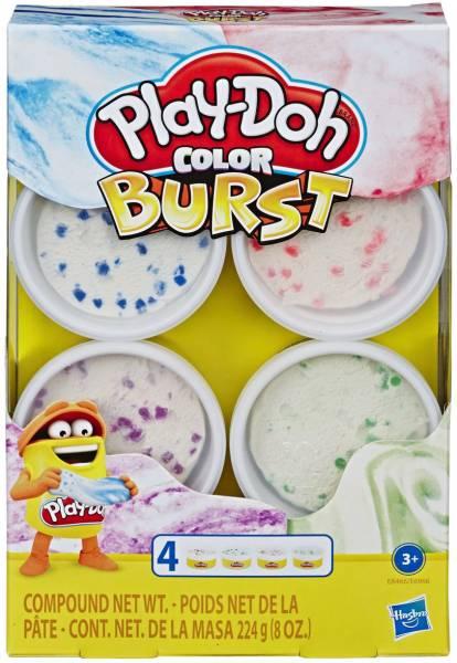 Kleur Explosie Play-Doh 4-pack: 224 gram (E6966)