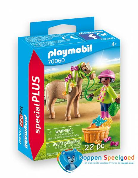 PLAYMOBIL Meisje met pony - 7060