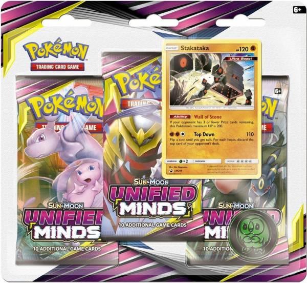 Pokemon blister SM11: Sun & Moon Unified Minds