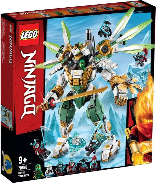 Titanium mecha van Lloyd Lego (70676)