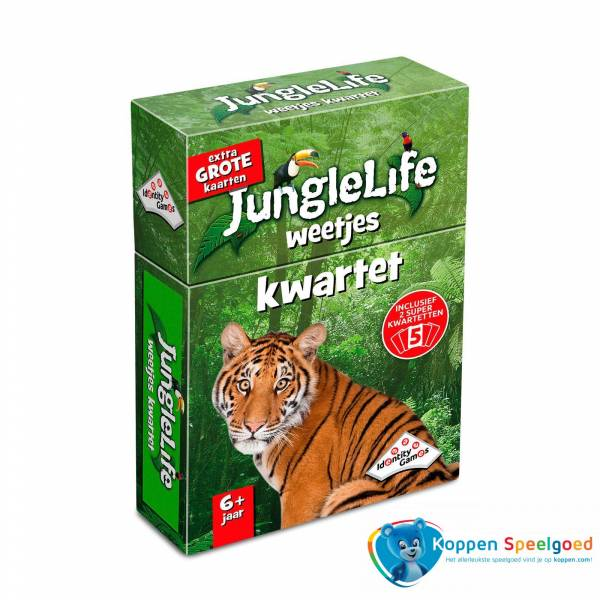 Identity Games, Junglelife weetjes kwartet