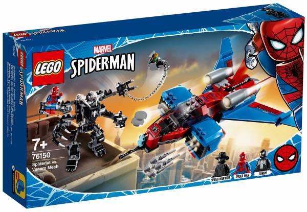 Spiderjet vs Venom Mech Lego (76150)