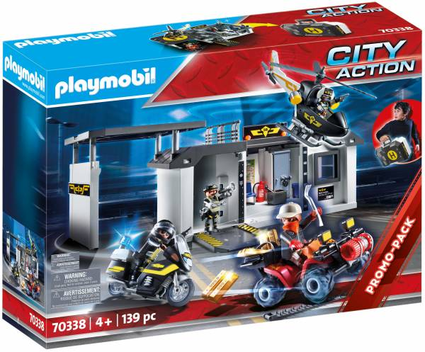 Meeneem SIE-centrale Playmobil (70338)