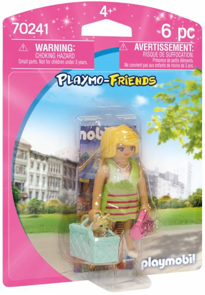 It-girl met chihuahua Playmobil (70241)