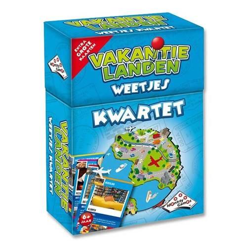 Identity Games, Vakantielanden weetjes kwartet