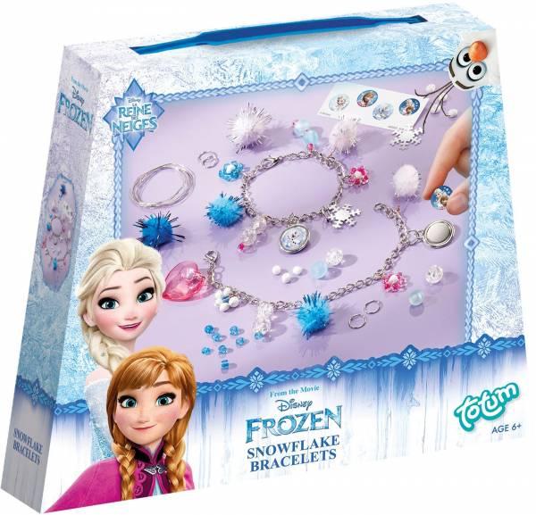 Armbandjes maken Frozen ToTum: sneeuwvlok