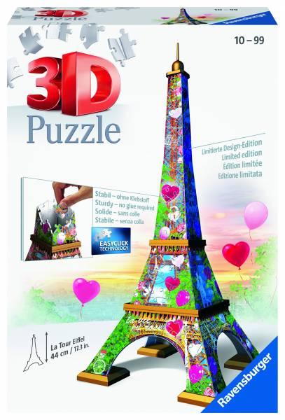 Puzzel Eiffeltoren Love Edition 3d: 216 stukjes (1 11831)