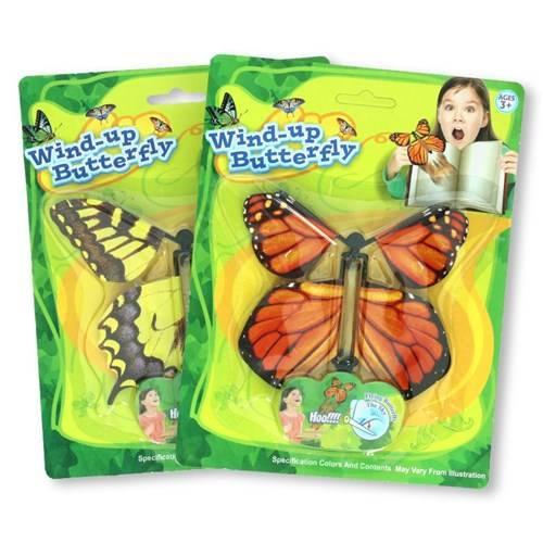 Opdraai vlinder op kaart