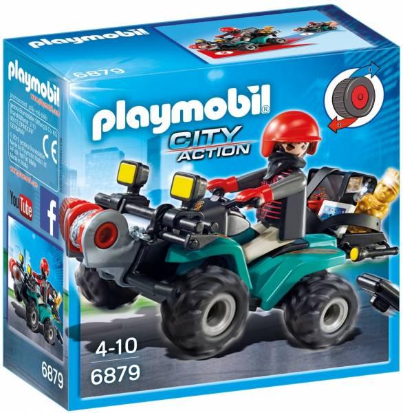 Bandiet en quad met lier Playmobil (6879)