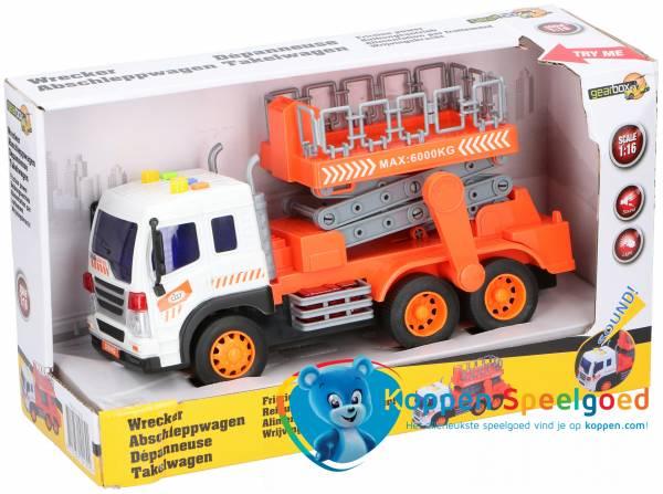 Vrachtwagen met hoogwerker