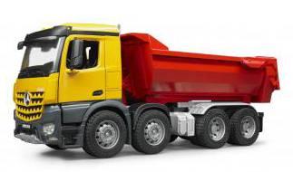 MB Arocs Halfpipe dump truck Bruder (03623)