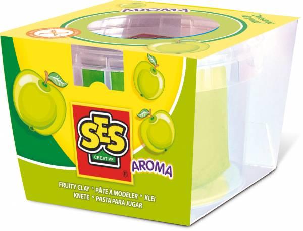 Klei SES: groen met appelgeur 90 gram (00413)