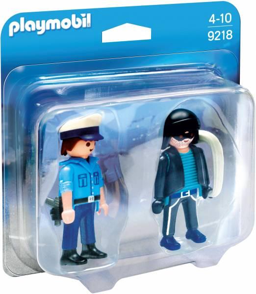 DuoPack Politieagent en dief Playmobil (9218)