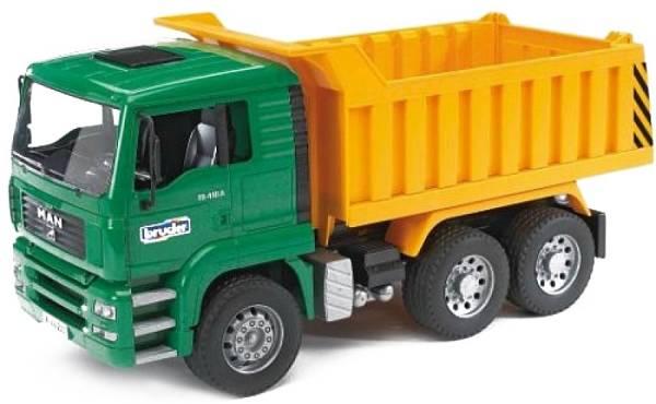 Bruder MAN TGA Vrachtwagen Met Kiepbak 02765
