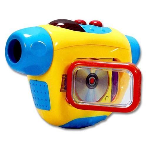 Videocamera met licht en geluid