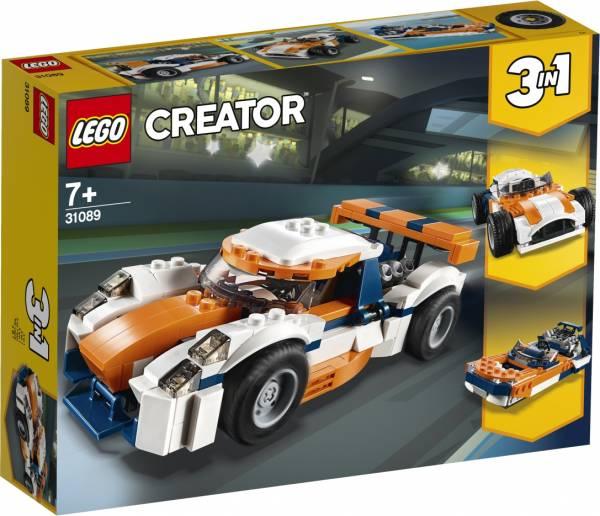 Zonsondergang baanracer Lego (31089)