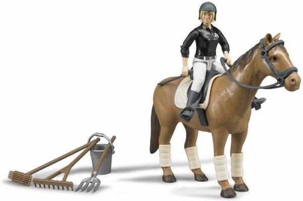 Figurenset paardrijden Bruder (62505)