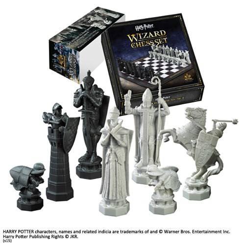 Tovenaar schaakstukken