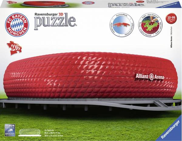 Puzzel Allianz Arena 3d: 216 stukjes (125265)