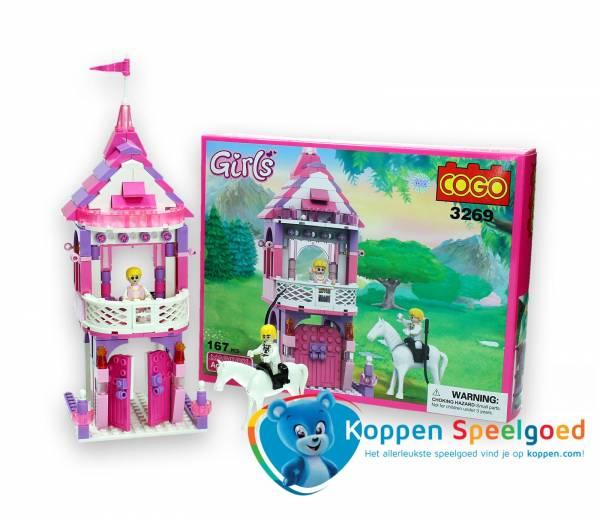 COGO Girls kasteel 167 delig