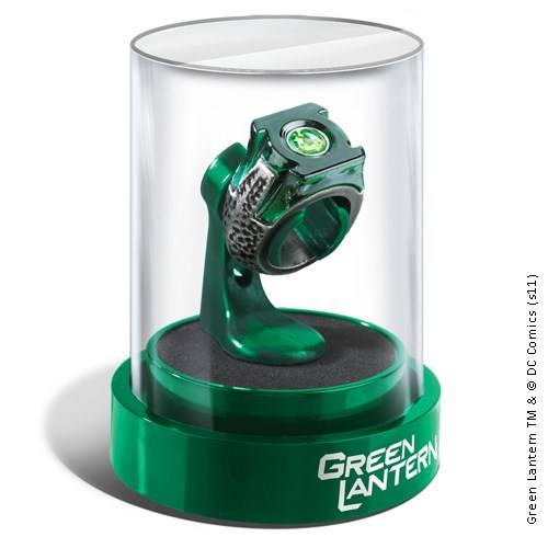 Green Lantern - Ring in display