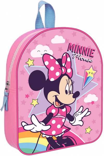 Rugzak Minnie Mouse Stars en Rainbows: 28x22x10 cm (088-0920)