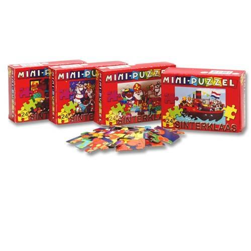 Sinterklaas mini puzzel
