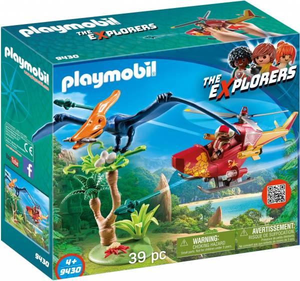 Helikopter met Pteranodon Playmobil (9430)
