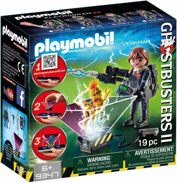 Ghostbuster Peter Venkman Playmobil (9347)