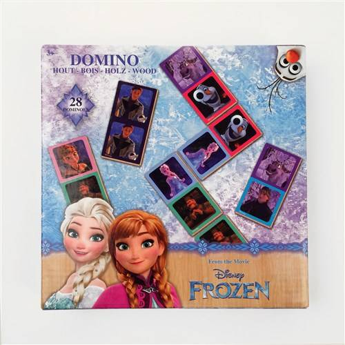 Disney Frozen domino, hout
