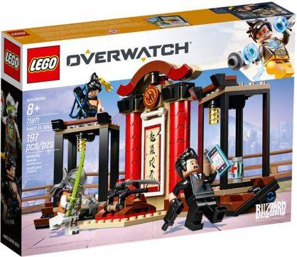 Hanzo vs Genji Lego (75971)