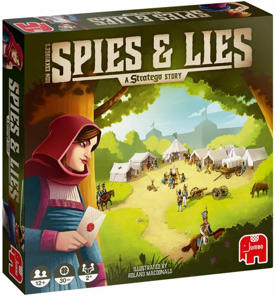 Spies en Lies: A Stratego Story (19739)