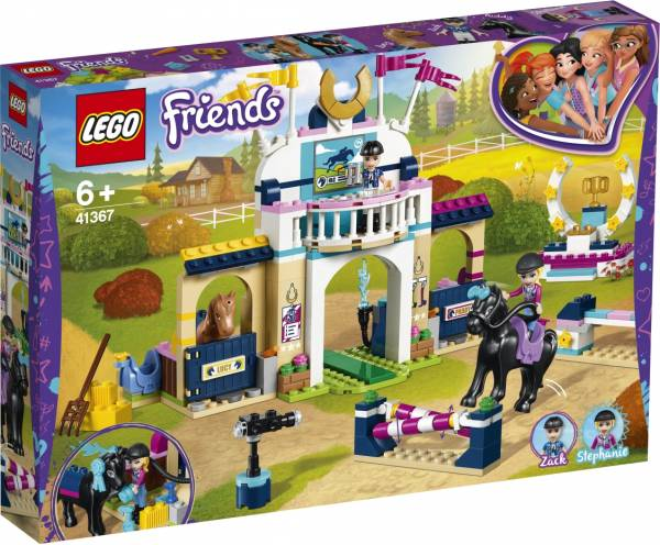 Stephanie`s paardenconcours Lego (41367)