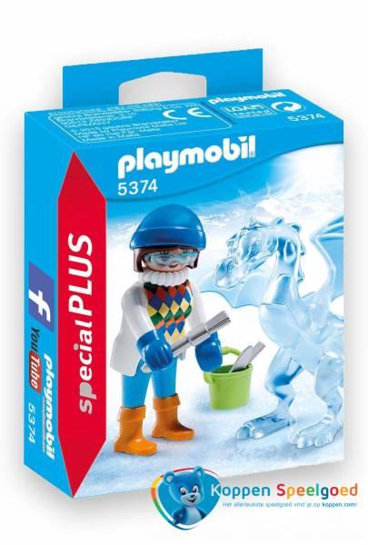 PLAYMOBIL Artieste met ijssculptuur - 5374