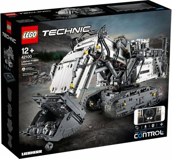 Liebherr R 9800 Excavator Lego (42100)