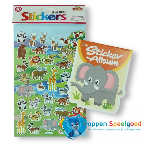 Sticker album olifant