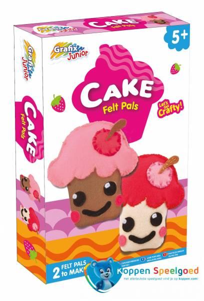 Maak je eigen cupcakes van vilt