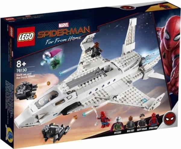 Starkstraaljager en de drone aanval Lego (76130)