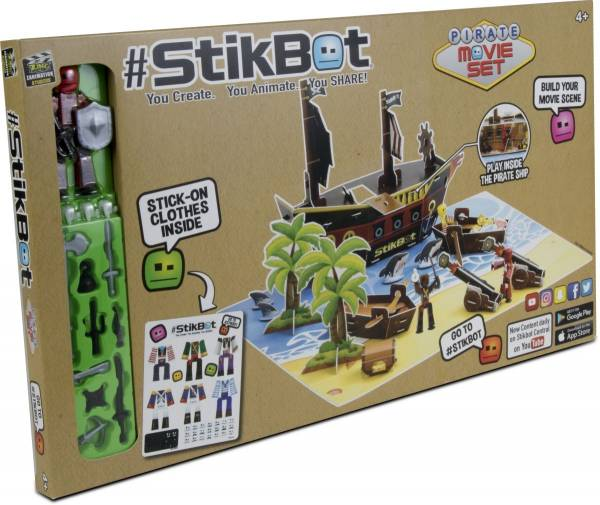 Stikbot Movie Set Pirates