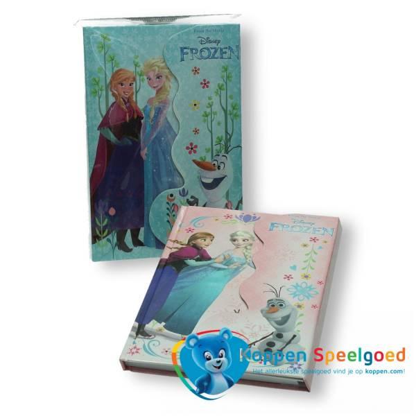 Disney Frozen dagboek met magneetsluiting en potlood