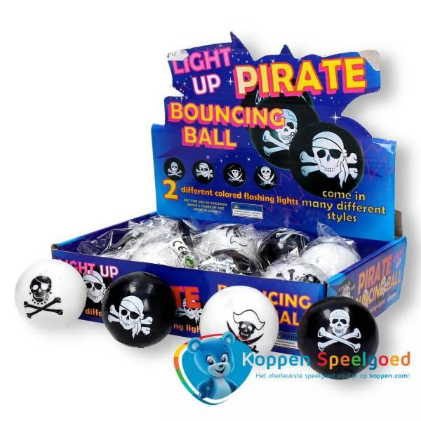 Stuiterbal piraat met licht