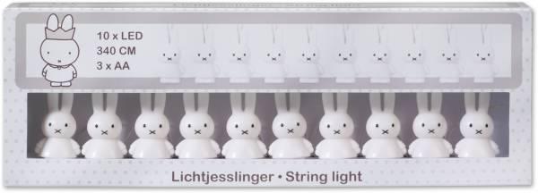 Lichtjesslinger Nijntje wit